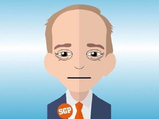 SP-wethouder twitterde over zijn Kamergotchi-poppetje: SGP-leider Van der Staaij