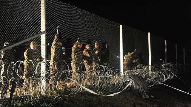 Syriër veroordeeld tot tien jaar voor rellen bij grens Hongarije