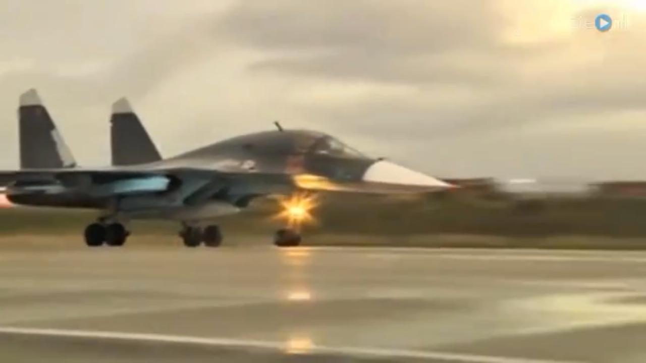 Russische vliegtuigen verlaten Syrië