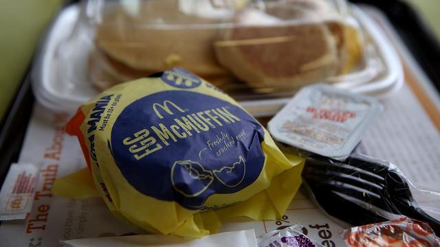 Omzet McDonald's valt hoger uit dan verwacht