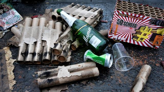 Gezin Etten-Leur opnieuw doelwit van vuurwerkterreur