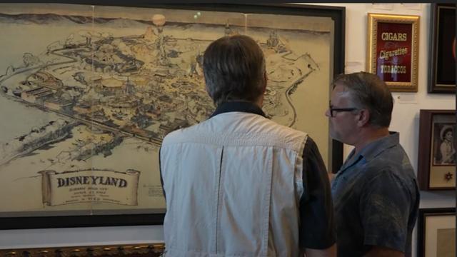 Eerste plattegrond Disney onder de hamer in Los Angeles