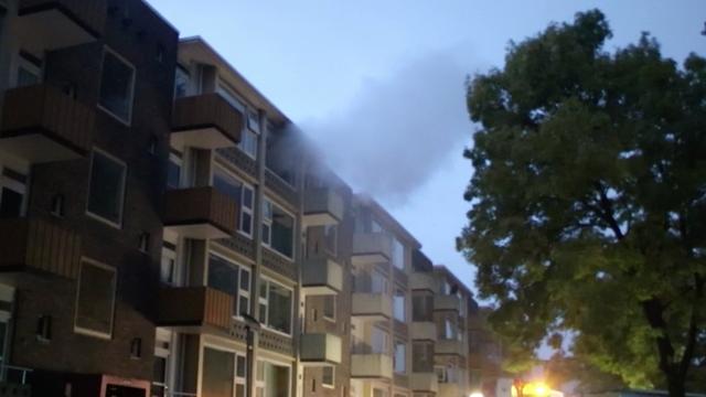 Aanhouding na brand en explosie in flat Groningen