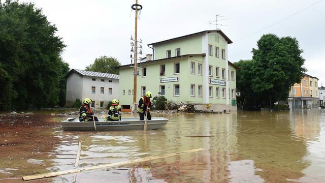 Zes mensen omgekomen door noodweer in Duitsland