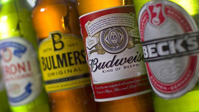 Brouwer AB InBev draait meer omzet door duurder bier