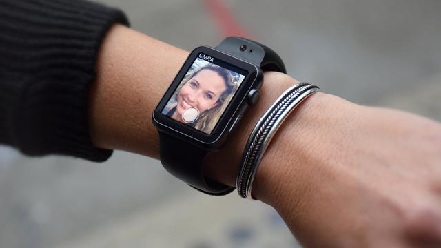 Apple Watch-bandje heeft twee ingebouwde camera's