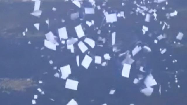 Syrische leger strooit flyers uit met 'veilige routes' om Aleppo te verlaten