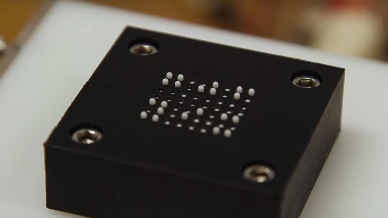 Onderzoekers ontwikkelen goedkope braille-tablet