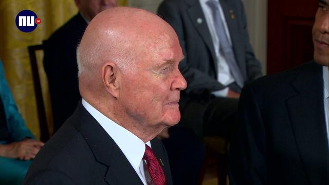 Grootste ruimteheld en senator John Glenn overleden