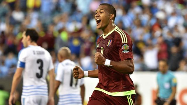 Uruguay uitgeschakeld op Copa America na verlies tegen Venezuela