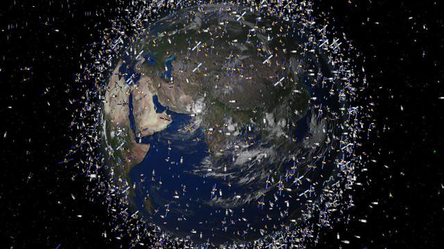 Japan lanceert apparaat om ruimteafval op te ruimen