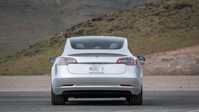 Tesla Model 3 krijgt accupakket van 50 of 75 kWh