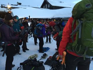 Wandelaars aangetroffen in buurt van berghut