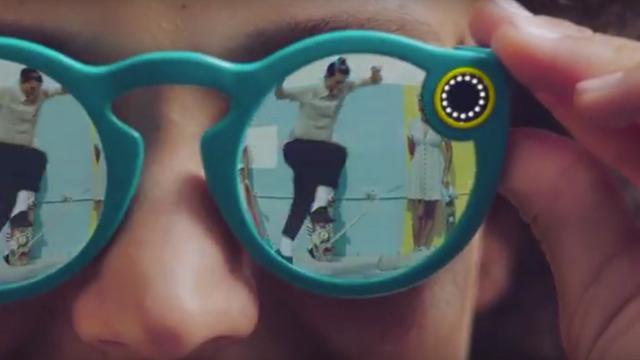 Snapchat Spectacles is zonnebril met ingebouwde camera's