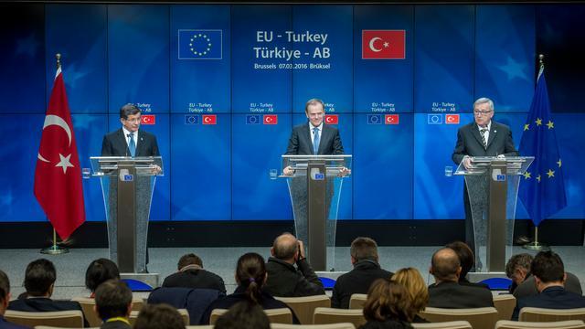 'Visumvrij reizen Turken in EU dichterbij'