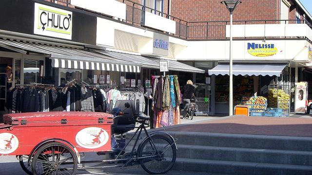 Actie tegen fietsen in voetgangersgebied Dijkcentrum