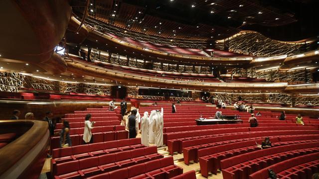 Een kijkje in de nieuwe opera van Dubai
