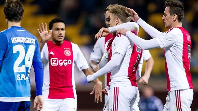Ajax in actie, verzetsspray en NK sprint en allround