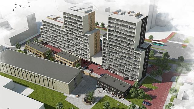 Bewoners 'verdrietig en teleurgesteld' over bouw woningen Groenoord