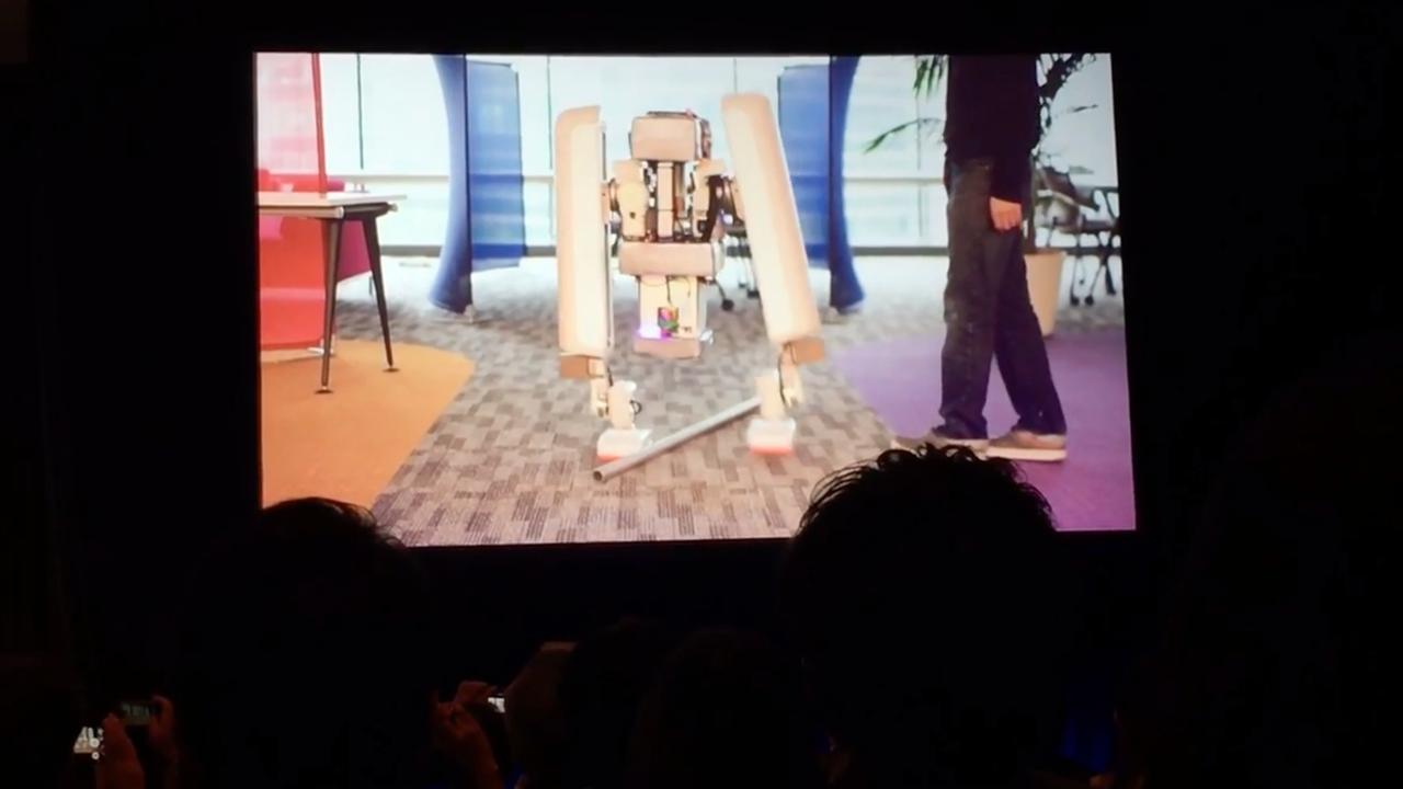 Robot van Google-bedrijf Schaft kan 60 kilo dragen
