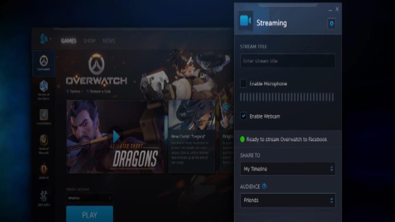 Dit is de nieuwe gamestreamingdienst van Blizzard