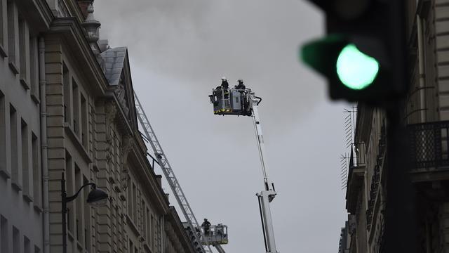 Grote brand bij verbouwing Hotel Ritz in Parijs
