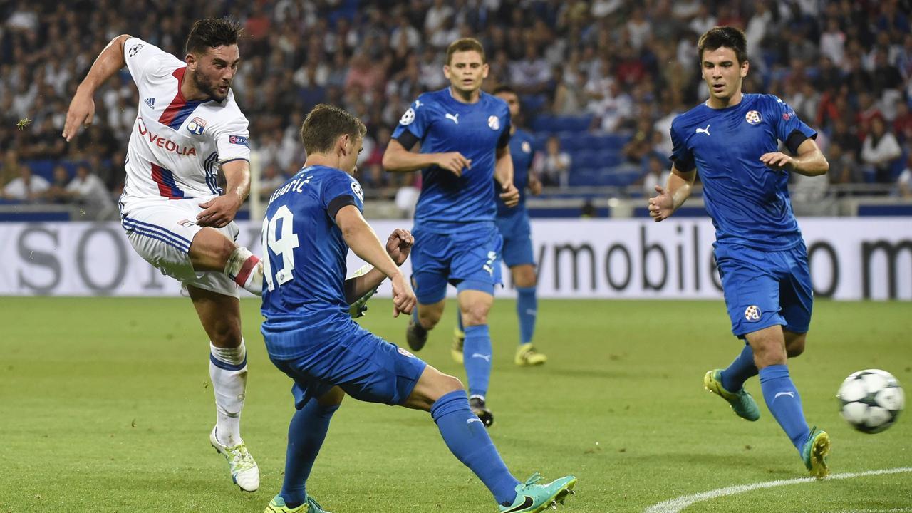 Samenvatting Olympique Lyon-Dinamo Zagreb (3-0)