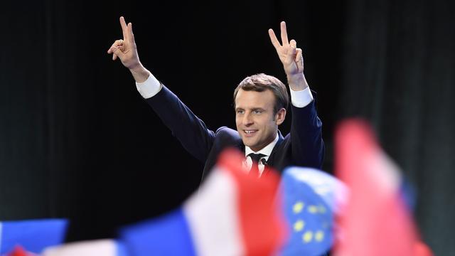 Flinke winsten op beurzen na Franse verkiezingsuitslag