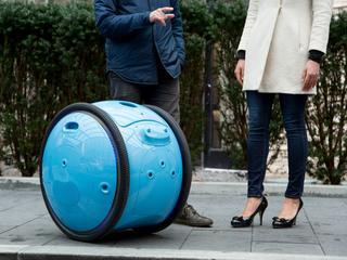 Robot Gita kan lasten tot 20 kilo dragen
