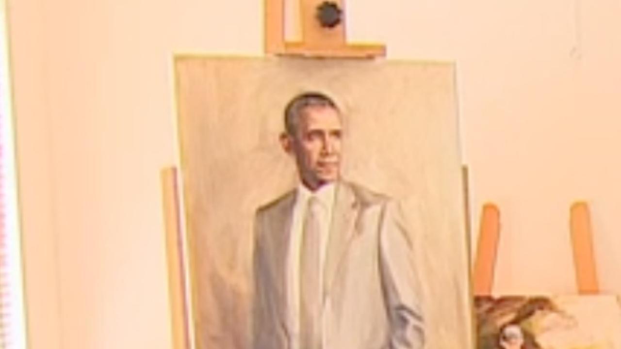 Nederlander overspoeld met reacties na schilderen portret Obama