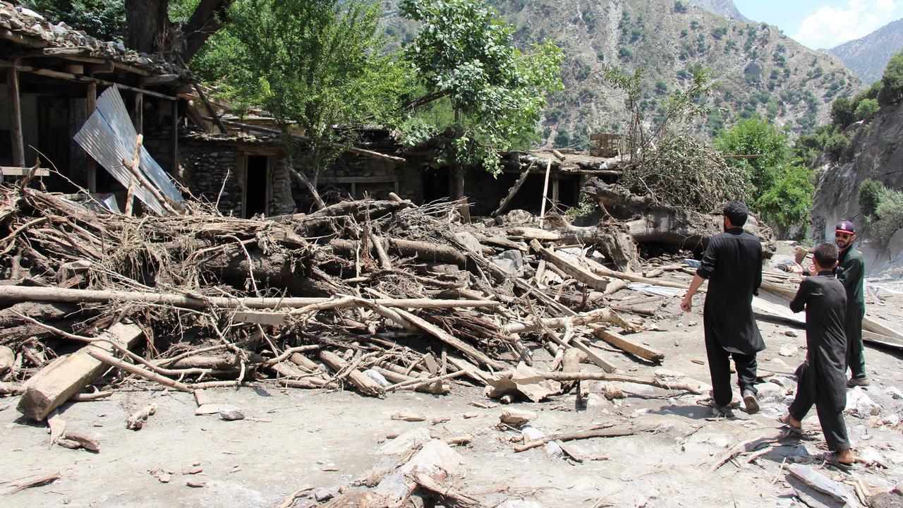 Dodental overstromingen Pakistan en India loopt op naar 55
