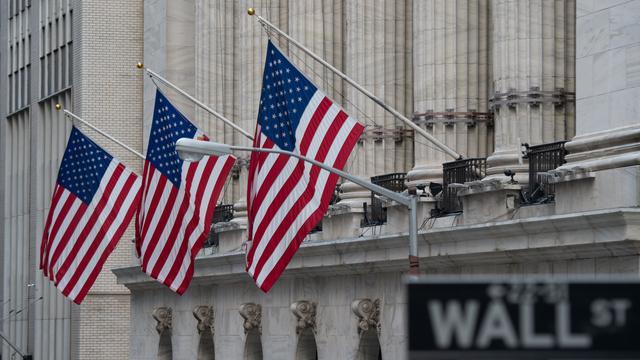 Koersen techbedrijven in de min op rood Wall Street