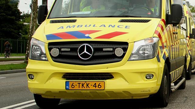 Motorrijder zwaargewond na ongeval op de Van Foreestlaan