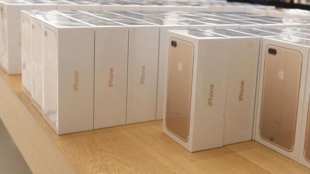 Drie aanhoudingen voor miljoenendiefstal Apple-producten