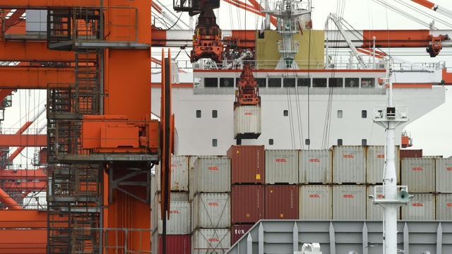 Vorig jaar in Nederland record aan goederen vervoerd