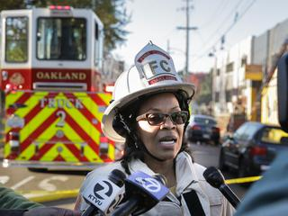 Doden na brand in Oakland