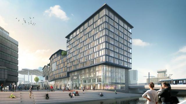 Hotel 'Utrecht City' opent volgend jaar bij Utrecht Centraal