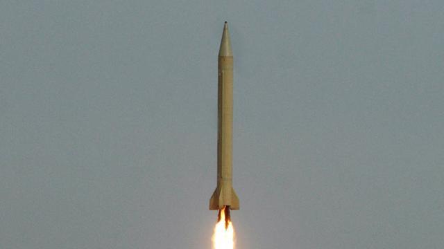 Iran test ballistische raketten