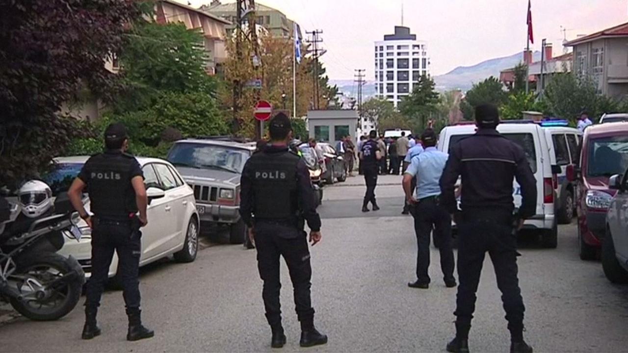 Man neergeschoten bij Israëlische ambassade Ankara