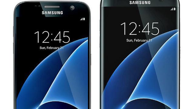 Gelekte plaatjes tonen Samsung Galaxy S7