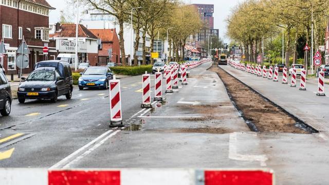 't Goylaan komend weekend afgesloten voor autoverkeer
