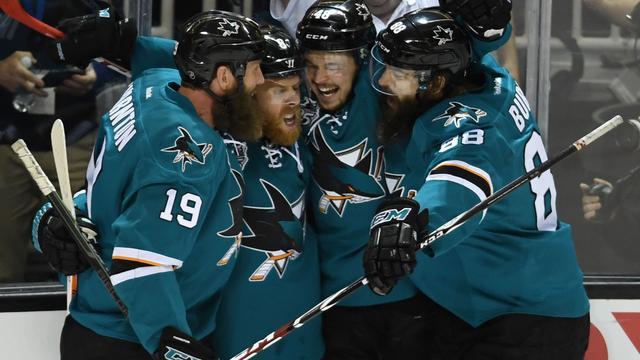 IJshockeyers San Jose Sharks voor het eerst in NHL-finale