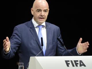 FIFA-voorzitter Infantino positief na onderhoud met premier en emir van oliestaat