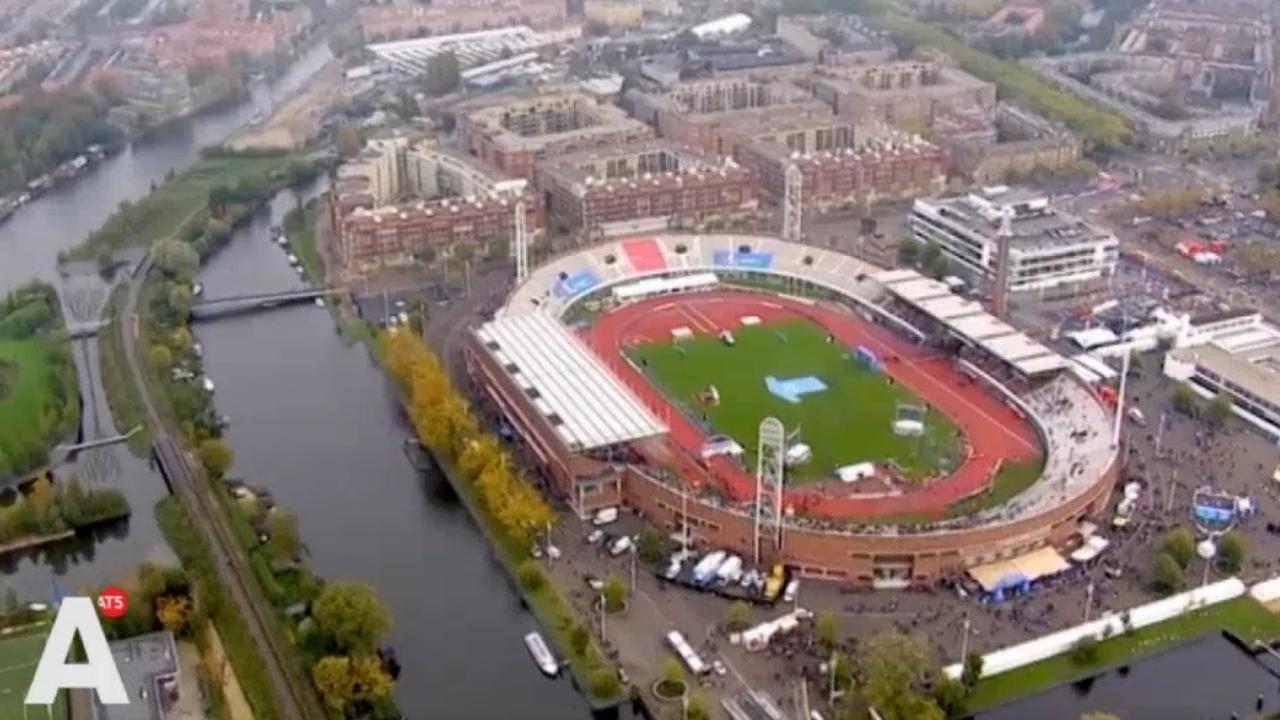 Binnenstad Amsterdam zondag slecht bereikbaar vanwege halve marathon