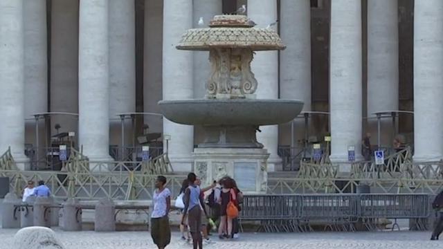 Honderd fonteinen in Vaticaan afgesloten door droogte