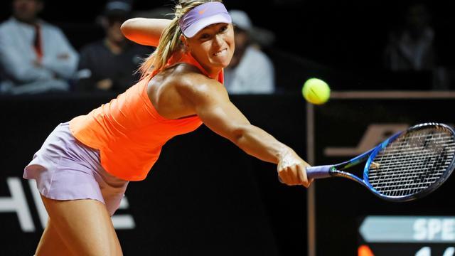Sharapova verliest ook geen set in derde partij na schorsing