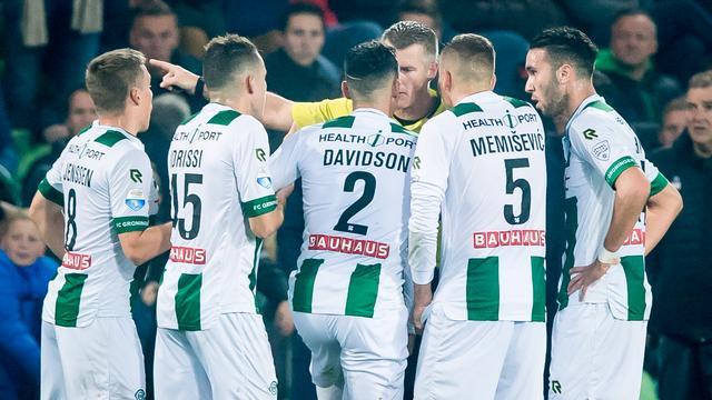 FC Groningen-verdediger Davidson ontkomt aan schorsing