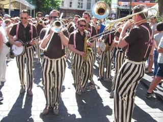 Vier dagen jazz in Brabantse stad