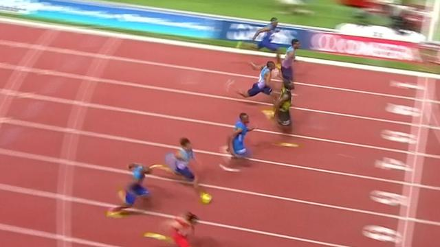 Bolt snelt naar tijd onder tien seconden in Monaco