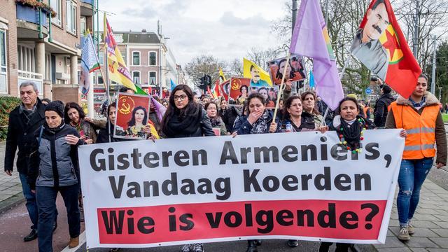 Groep Koerden Noord in hongerstaking